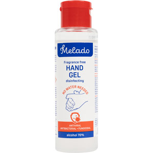 melado 70% alcohol hand sanitiser (100ml)