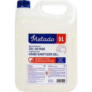 melado 70% alcohol hand sanitiserrefill (5ltr)