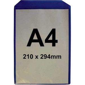 Magnetic Document Pocket - A4 Vertical