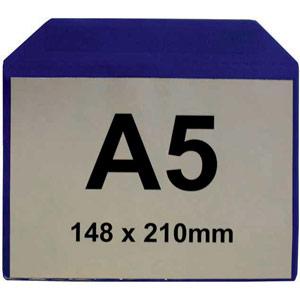 Magnetic Document Pocket - A5 Horizontal