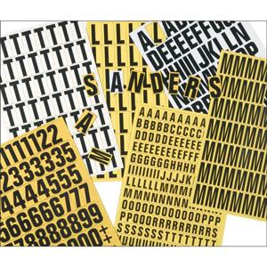 Magnetic Letter Set - 17mm (White)