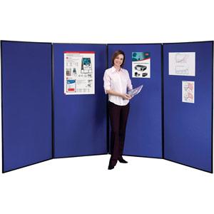 Nobo 4-Panel Showboard Extra