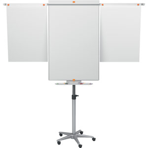 Nobo Classic Nano Clean™ Mobile Easel including extendable display arms