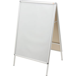 Nobo A-Board Snap Frame Poster Display - A0