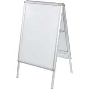 Nobo A-Board Snap Frame Poster Display - A1
