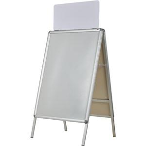Nobo A-Board Snap Frame Header Panel - A1