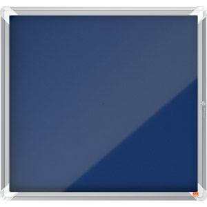 Nobo Internal Glazed Case (Blue Fabric) - 6xA4