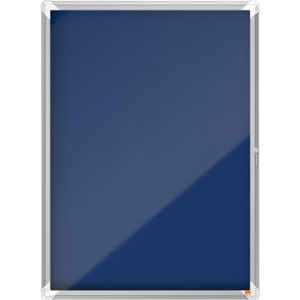 Nobo Internal Glazed Case (Blue Fabric) - 9xA4
