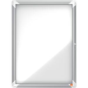 Nobo Magnetic Internal Glazed Case (White) - 4xA4