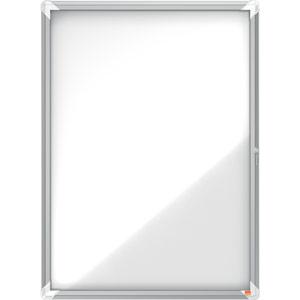 Nobo Magnetic Internal Glazed Case (White) - 9xA4
