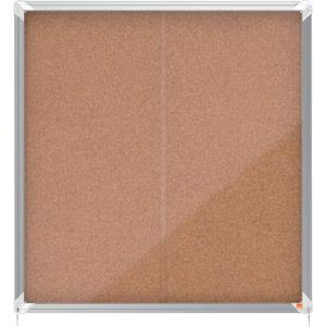 Nobo Sliding Door Internal Glazed Case (Cork) - 12xA4