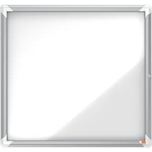 Nobo Magnetic External Glazed Case (White) - 6xA4