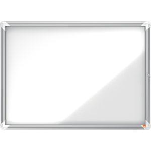 Nobo Magnetic External Glazed Case (White) - 8xA4