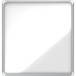 Nobo Magnetic External Glazed Case (White) - 12xA4