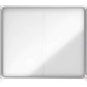 Nobo Magnetic External Glazed Case (White) - 15xA4