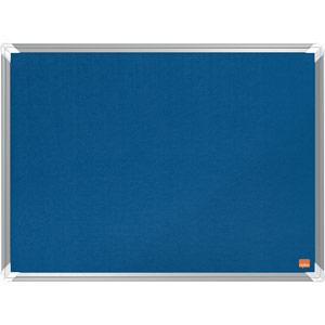 Nobo Premium Plus Blue Felt Notice Board - 600x450mm