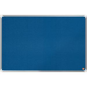 Nobo Premium Plus Blue Felt Notice Board - 900x600mm