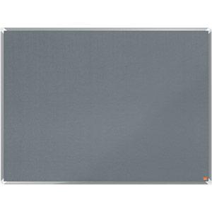 Nobo Premium Plus Grey Felt Notice Board - 1200x900mm
