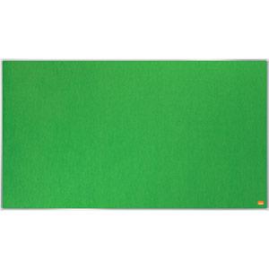 Nobo Impression Pro Widescreen Green Felt Notice Board - 890x500mm