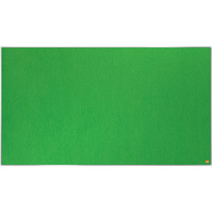 Nobo Impression Pro Widescreen Green Felt Notice Board - 1220x690mm