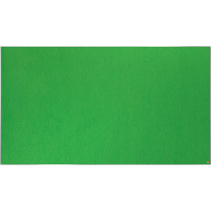 Nobo Impression Pro Widescreen Green Felt Notice Board - 1880x1060mm