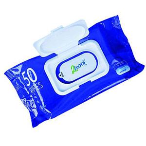 2Work Antibacterial Hand Wipes (Pack of 50)