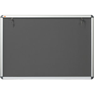 Nobo Internal Display Case (Grey Felt) - A0