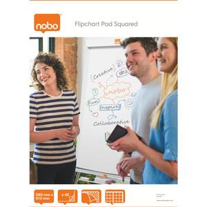 Nobo Flipchart Pad Squared - 580x810mm
