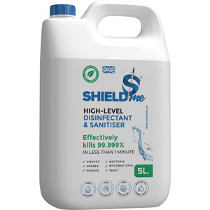shieldme high-level disinfectant & sanitiser - 5ltr