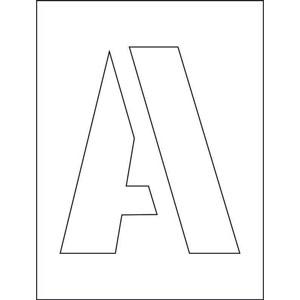 200mm Letters Stencil Kits (A-Z)