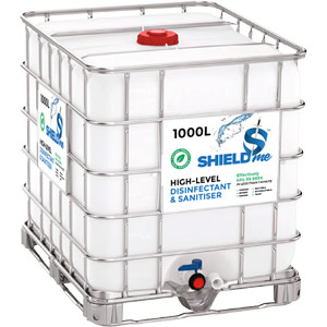 SHIELDme High-Level Disinfectant & Sanitiser - 1000Ltr