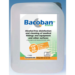 bacoban 5l concentrate mix ratio 1:100 to make 500l