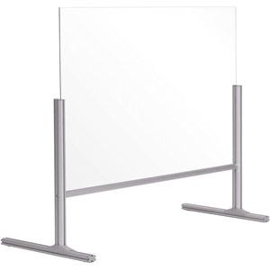 Bi-Office Balcony Acrylic Desk Protection Screen - 1000x850mm