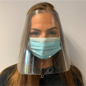 Disposable Face Shields - unbranded