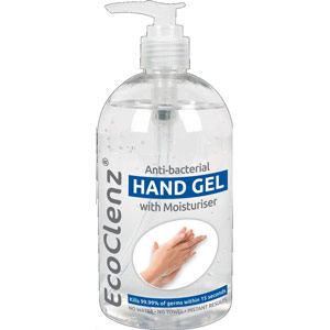 500ml Anti-Bacterial Hand Gel - Kills viruses including MRSA & H1N1