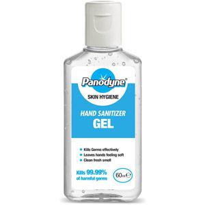 Panodyne Hand Sanitiser Gel - 70% Alcohol - 60ml