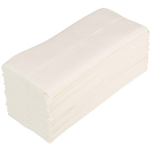 soft c-fold two ply hand towels (white) - 2430 sheets