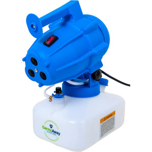 GermzAway 3 Nozzle Fogging Machine (Gen. 1) - Supplied with 4 x 5L Fogging Fluid Bottles