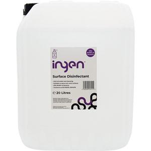 INGEN High-Level Surface Disinfectant - Screw Cap Refill Bottle (20 Ltr)