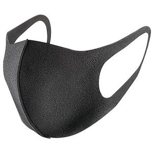 orcagel reusable washable face masks - black