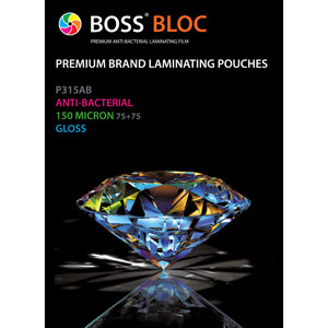 Vivid Premium Anti-bacterial Laminating Pouches - A3 Gloss (Pack of 100)