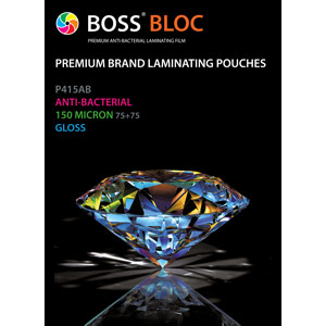 Vivid Premium Anti-bacterial Laminating Pouches - A4 Gloss (Pack of 100)