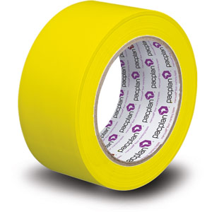 Yellow Floor Masking Tape - 18 Rolls x 33 meters