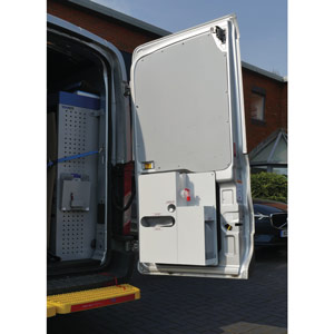 Wall or Van Mounted Portable Washing Unit - Small