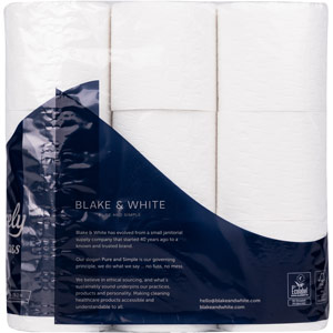Purely Class Toilet Roll 3ply Supersoft Quilted Pack of 9
