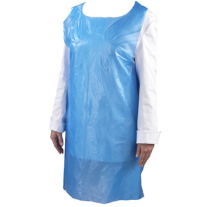 Blue Disposable LDPE Apron - Standard (70x120cm)