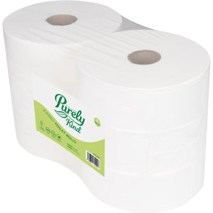 Purely Kind Toilet Roll 2ply Jumbo 350m Pack of 6