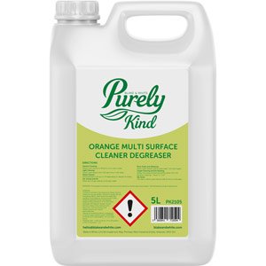 Purely Kind Orange Multi Surface Cleaner Degreaser 5L