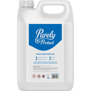 Purely Protect 70% Alcohol Hand Sanitiser Refill (5Ltr)