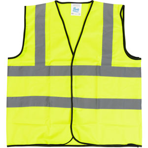 Purely Protect Hi Vis Vest Size Small